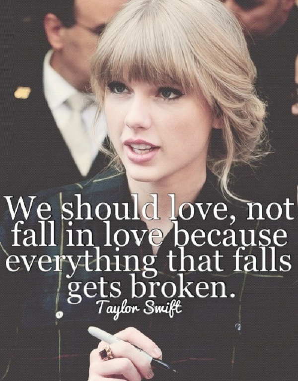 taylor swift sayings
