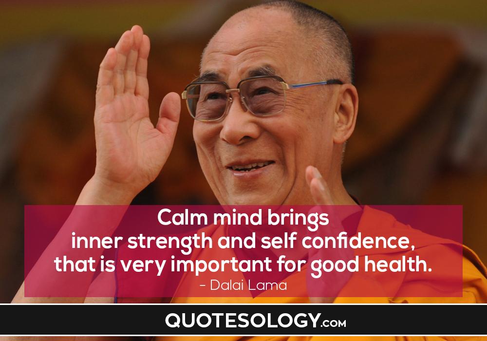 Dalai Lama Health Quotes
