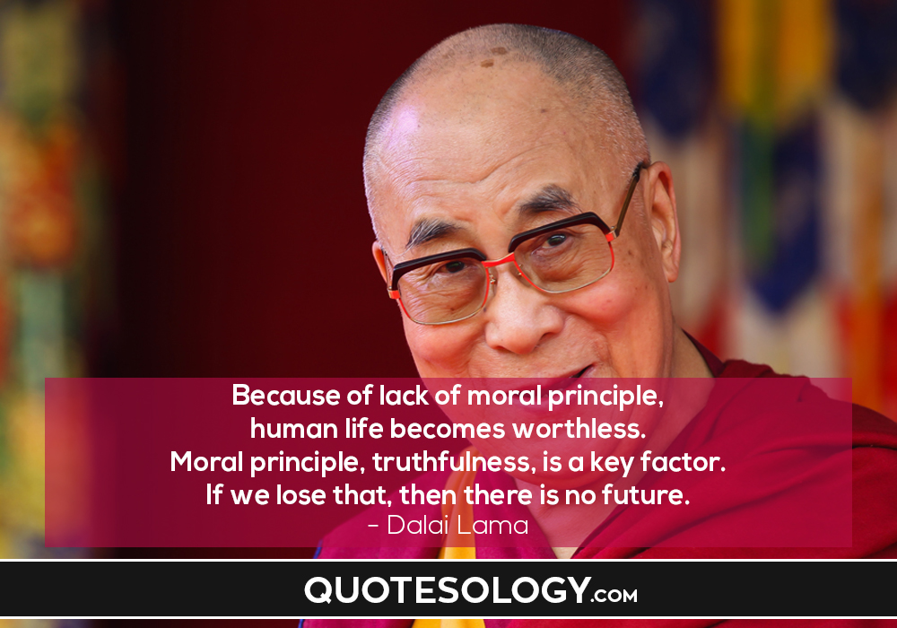 Dalai Lama Human Life Quote