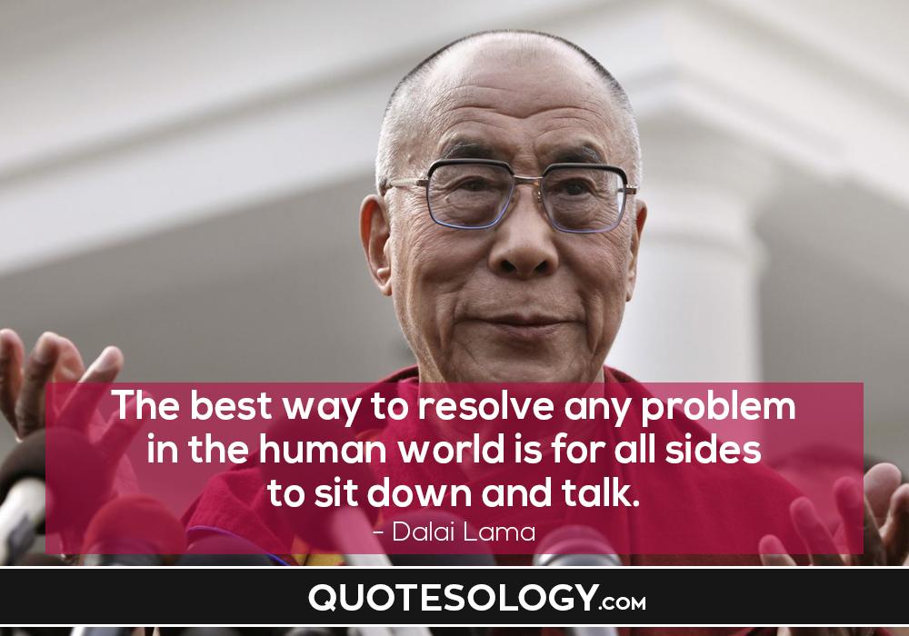 Dalai Lama Human Quotes