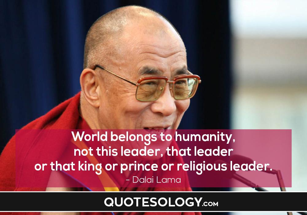Dalai Lama Humanity Quotes