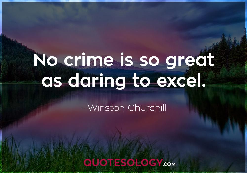 Winston Churchill Crime Quote