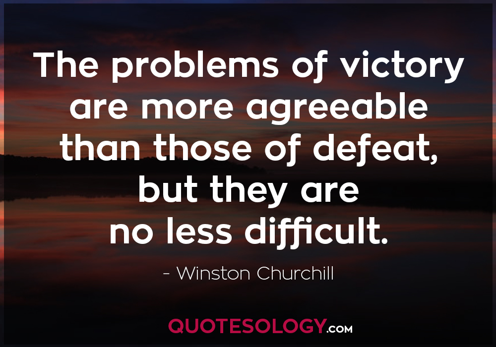 Winston Churchill Inspirational Quote