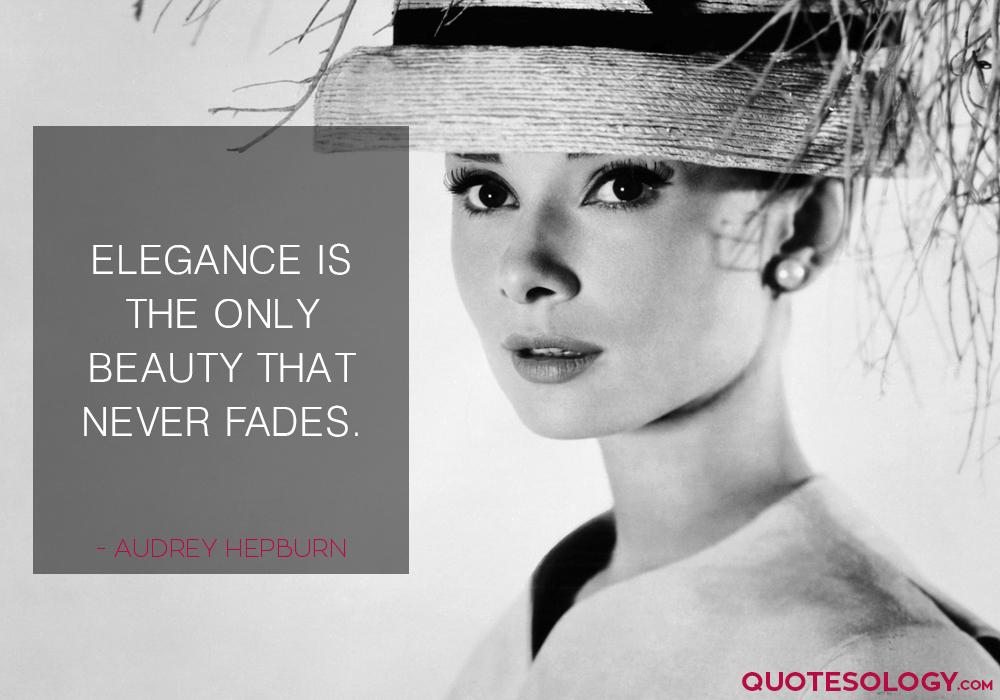 Audrey Hepburn Beauty Quotes