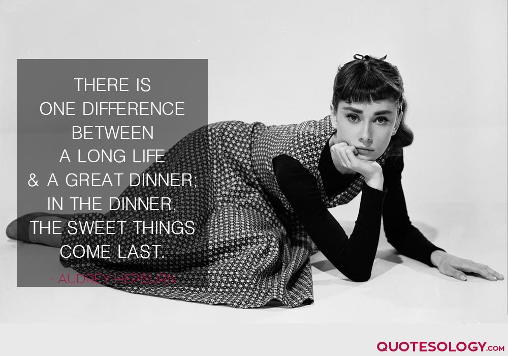 Audrey Hepburn Long Life Quotes
