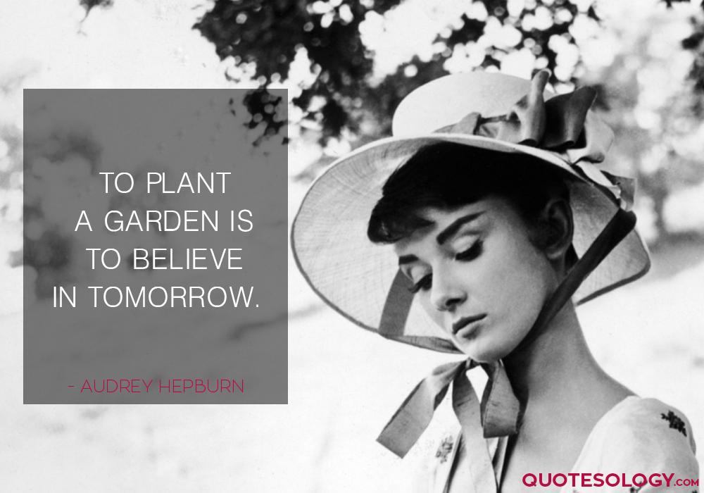 Audrey Hepburn Motivational Quotes