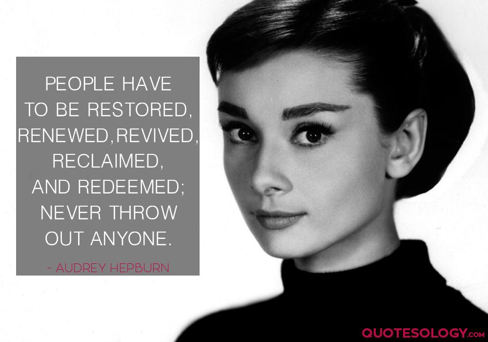 Audrey Hepburn People Quote
