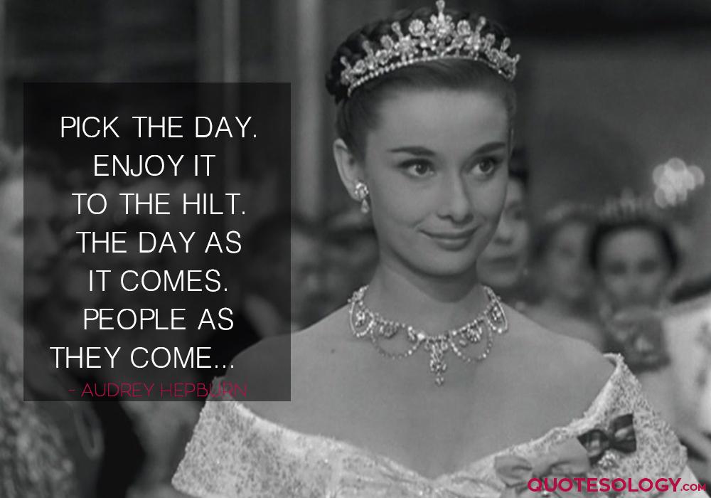 Audrey Hepburn People Quotes
