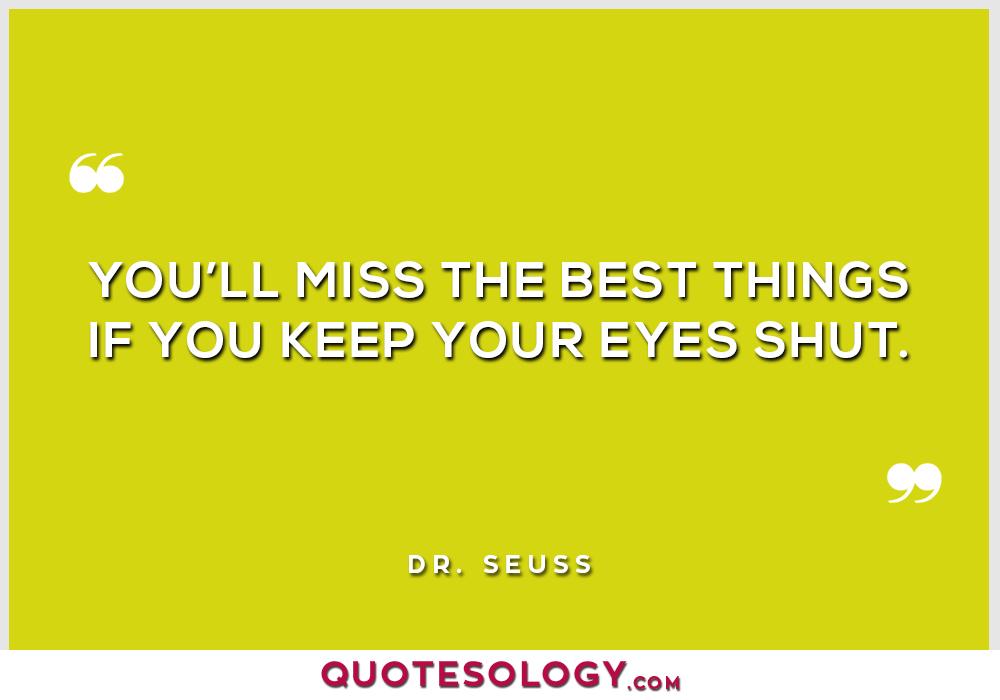 Dr Seuss Best Quotes