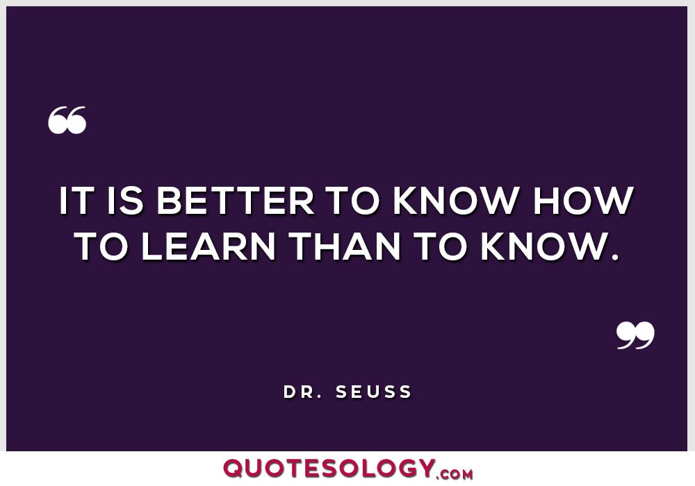 Dr Seuss Better Quotes