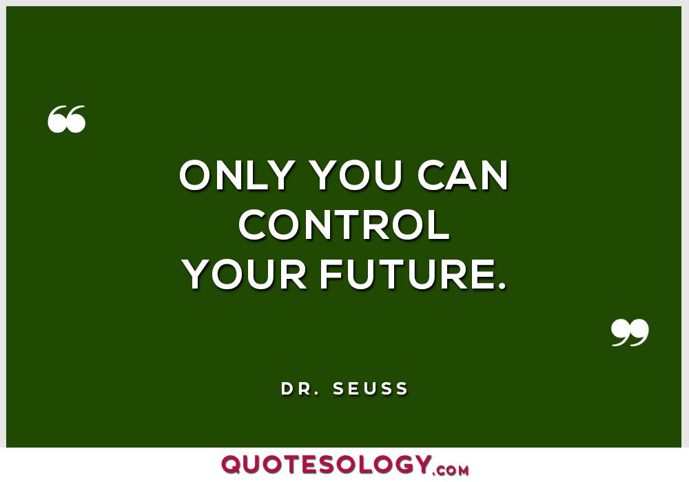 Dr Seuss Future Quotes