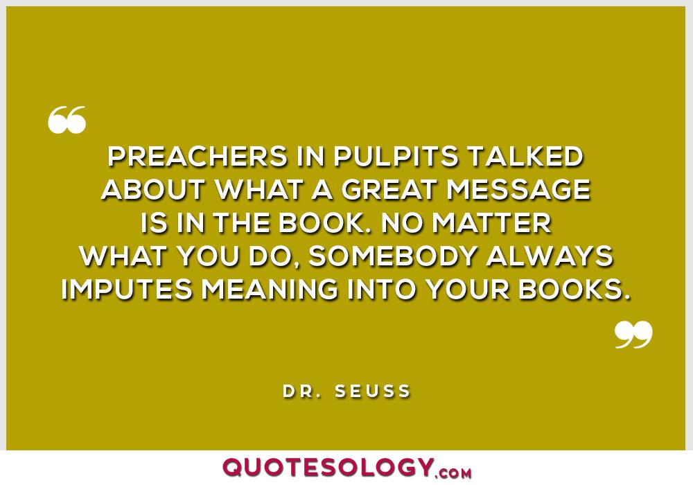 Dr Seuss Massage Quotes