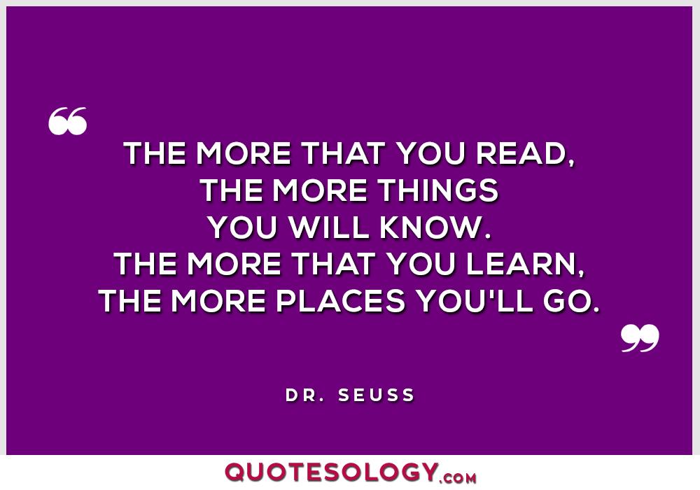 Dr Seuss Read Quotes