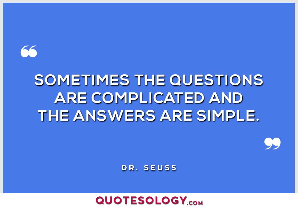 Dr Seuss Simple Quotes