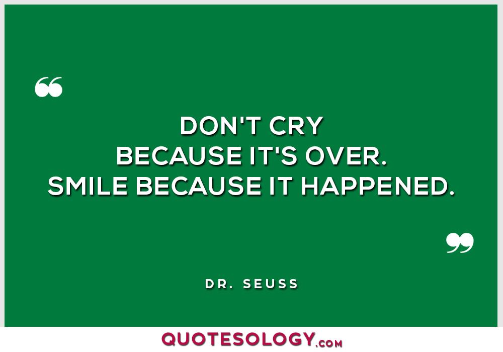 Dr Seuss Smile Quotes