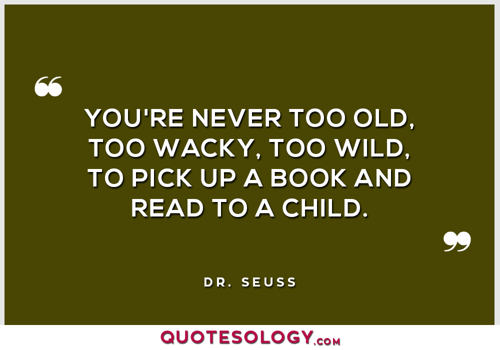 Dr Seuss Wacky Quotes