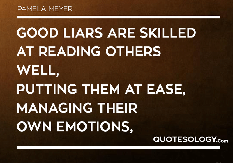 Quotes About Liars For All Time