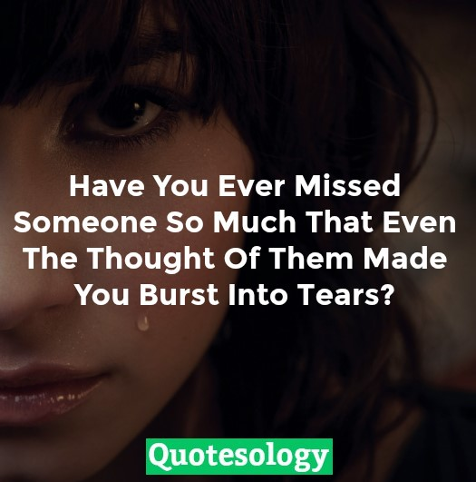 Missing You Quotes