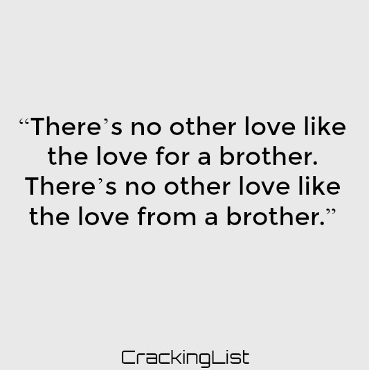 Quotes About Brothers Best Brothers Quotes Sayings
